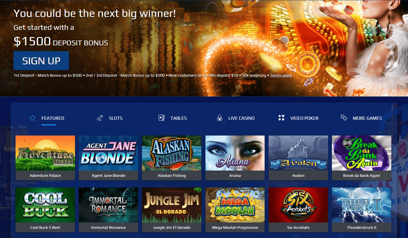 What promotions are available at All Slots Casino?