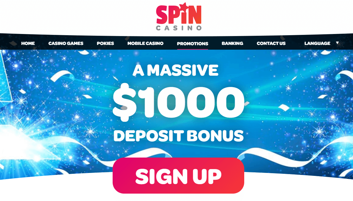 spin casino promotions