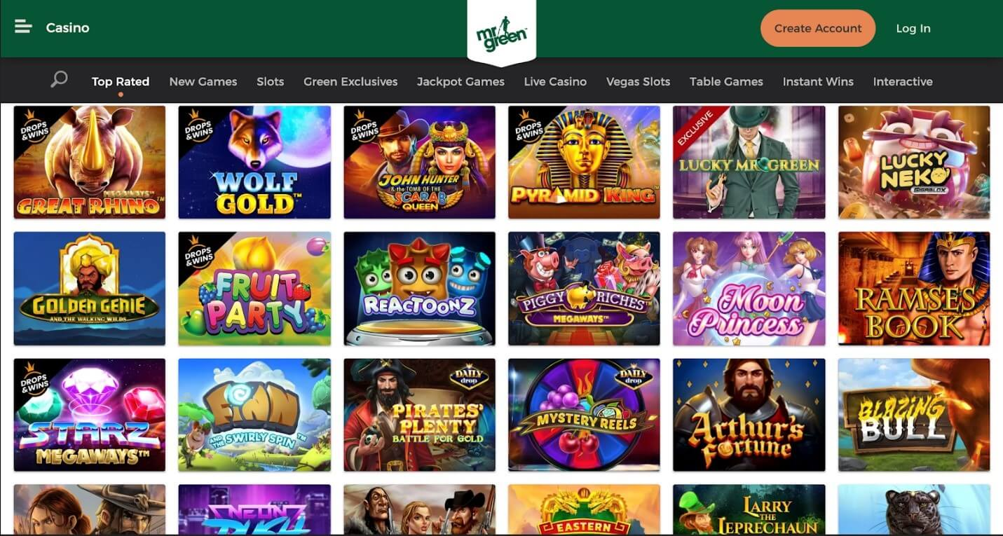 Mr. Green Online Casino – Amazing Games To Discover In 2021
