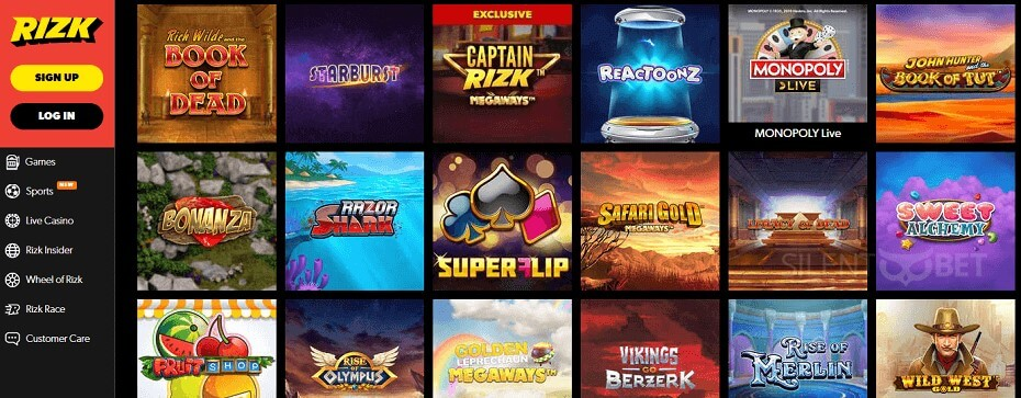 What Will You Play At Rizk Online Casino?