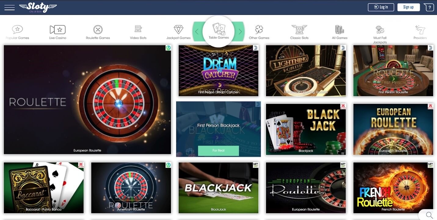 Some Games At Sloty Casino You Should Try!