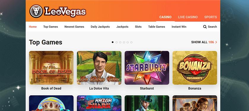 Games To Enjoy On LeoVegas Online Casino