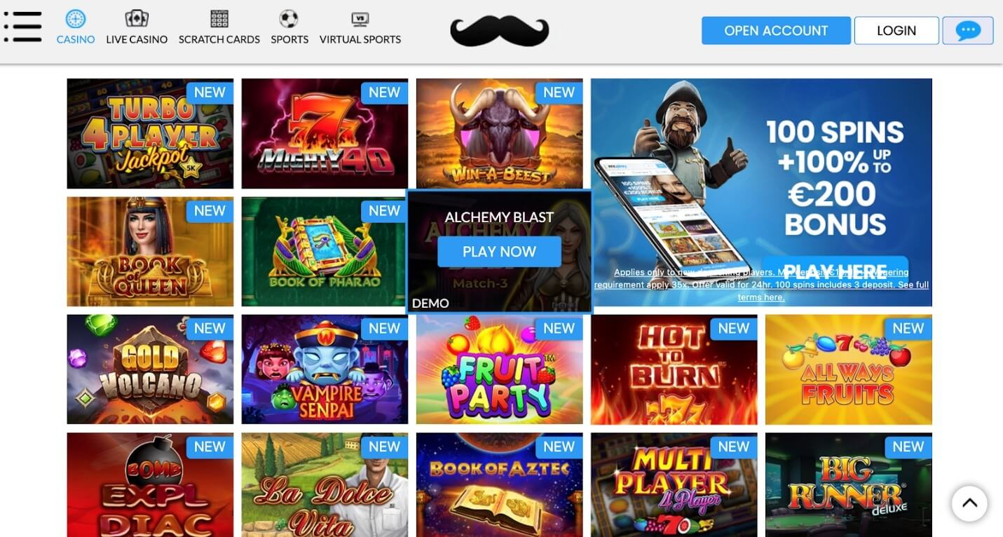 Experience Attractive Casino Games At Mr. Play Casino