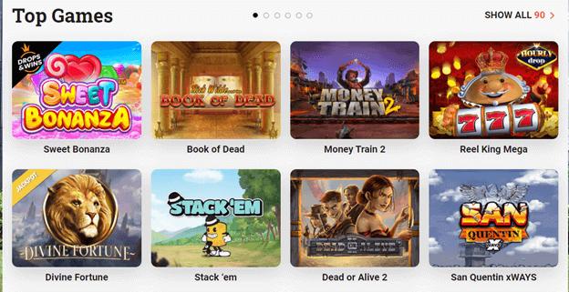 Top Skrill Casino Games